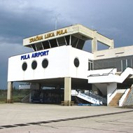 Airport Pula rent-a-car location