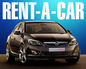 RENT-A-CAR RATE INCLUDES